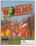 Worms Amiga Front Cover