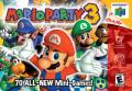 Mario Party 3 Nintendo 64 Front Cover