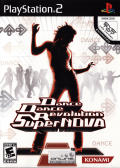 Dance Dance Revolution SuperNOVA PlayStation 2 Front Cover