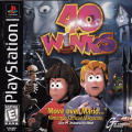 40 Winks PlayStation Front Cover Manual - Front