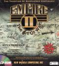 Empire II: The Art of War DOS Front Cover