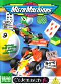 Micro Machines SEGA Master System Front Cover