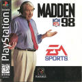 Madden NFL 98 PlayStation Front Cover