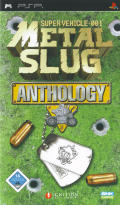 Metal Slug: Anthology PSP Front Cover