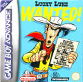 Lucky Luke: Wanted! Game Boy Advance Front Cover