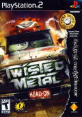 Twisted Metal: Head-On - Extra Twisted Edition PlayStation 2 Front Cover