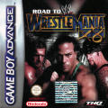 WWE Road to Wrestlemania X8 Game Boy Advance Front Cover