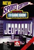 Jeopardy! New Sports Edition Apple II Front Cover