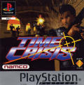Time Crisis PlayStation Front Cover Also manual front