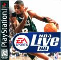NBA Live 99 PlayStation Front Cover