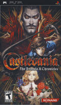 Castlevania: The Dracula X Chronicles PSP Front Cover