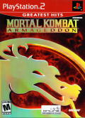 Mortal Kombat: Armageddon PlayStation 2 Front Cover