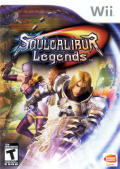 Soulcalibur: Legends Wii Front Cover