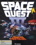 Space Quest III: The Pirates of Pestulon Amiga Front Cover