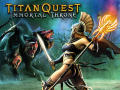 Titan Quest: Immortal Throne Windows Front Cover