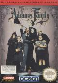 The Addams Family NES Front Cover