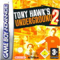 Tony Hawk's Underground 2 Game Boy Advance Front Cover