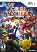 Super Smash Bros. Brawl Wii Front Cover