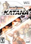 Samurai Warriors: Katana Wii Front Cover