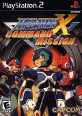 Mega Man X: Command Mission PlayStation 2 Front Cover