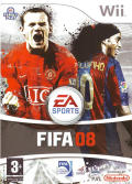 FIFA Soccer 08 Wii Front Cover