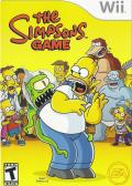 The Simpsons Game Wii Front Cover
