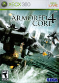 Armored Core 4 Xbox 360 Front Cover
