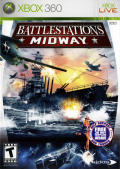 Battlestations: Midway Xbox 360 Front Cover