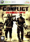 Conflict: Denied Ops Xbox 360 Front Cover