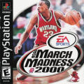 NCAA March Madness 2000 PlayStation Front Cover