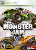 Monster Jam Xbox 360 Front Cover
