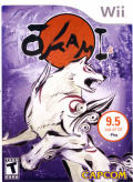 Ōkami Wii Front Cover