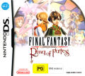 Final Fantasy: Crystal Chronicles - Ring of Fates Nintendo DS Front Cover