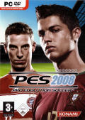 PES 2008: Pro Evolution Soccer Windows Front Cover