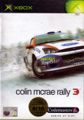 Colin McRae Rally 3 Xbox Front Cover