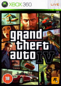 Grand Theft Auto IV Xbox 360 Front Cover