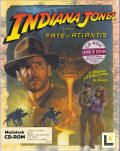 Indiana Jones and the Fate of Atlantis Macintosh Front Cover