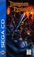 Dungeon Explorer SEGA CD Front Cover