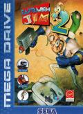 Earthworm Jim 2 Genesis Front Cover
