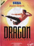 Dragon: The Bruce Lee Story SEGA Master System Front Cover