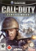 Call of Duty: Finest Hour GameCube Front Cover