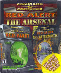 Command & Conquer: Red Alert - The Arsenal DOS Front Cover