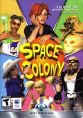 Space Colony Macintosh Front Cover