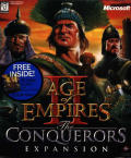 Age of Empires II: The Conquerors Windows Front Cover