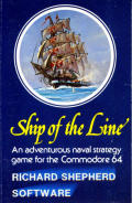 Ship of the Line Commodore 64 Front Cover