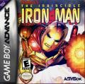 The Invincible Iron Man Game Boy Advance Front Cover