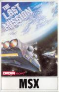 The Last Mission MSX Front Cover