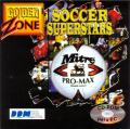 Soccer Superstars DOS Front Cover