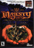 Majesty: The Fantasy Kingdom Sim: Gold Edition Windows Front Cover