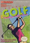 Bandai Golf: Challenge Pebble Beach NES Front Cover
